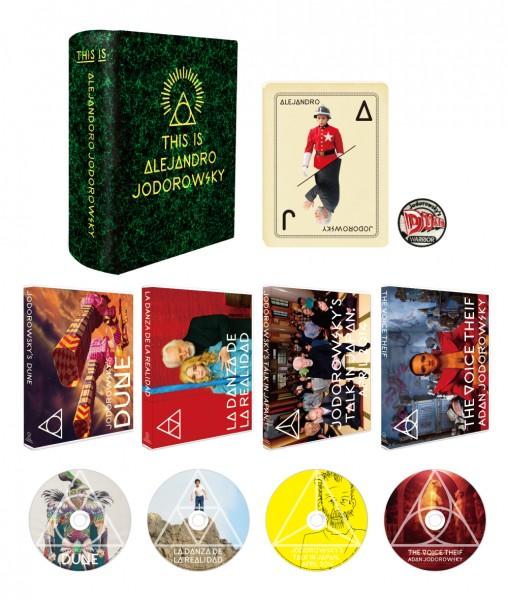 ホドロフスキーのDUNE/リアリティのダンス Blu-ray BOX<ウォーリアーズ・エディション>